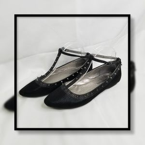 CL By Laundry Brigitta Spiked Flat
